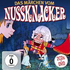 Film d'animation: La Conte Vom Nussknacker (Casse-noix) CD+DVD Musique De