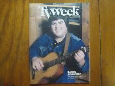 August 23, 1987 Chicago Tribune TV Week (DANIEL  SCHNEIDER/HEAD  OF  THE  CLASS)