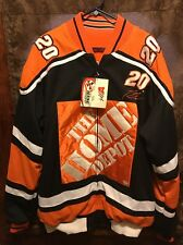 TONY STEWART NASCAR Mens XL Home Depot #20 NWT Chase Authentic Reversible Jacket