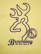 Browning The Best There Arms Guns Firearms Hunting T Shirt S