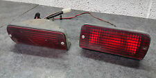 SET OF GENUINE VOLVO 480 S/ES/GT LOWER REAR FOG LIGHT/LAMP AND MATCHING BLANK