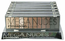 Technic Mega Nude Eyeshadow Palette - Matte Natural Makeup Smokey Eyes Browns