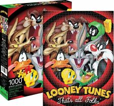 Looney Tunes That's All Folk 1000 pc jigsaw puzzle 690mm x 510mm  (nm 65253)