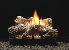 "WHITE MOUTAIN HEARTH VFDR-18LBN 18"" FLINT HILL GAS LOG SET MILLIVOLT NATURAL GAS"