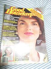 Vintage : GOOD HOUSEKEEPING magazine -US July 1984 Jacqueline Kennedy