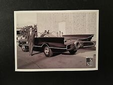 Batman 1966 Batmobile George Barris 5x7 Photo