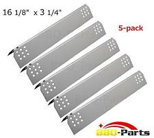 Jenn Air gas grill parts 97451 (5-pack) Stainless Steel Heat Plate, Heat Shield