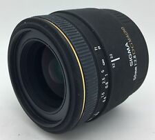 CANON Sigma EX 50mm f2.8 AF DG Macro lens-Guaranteed+Free Shipping!