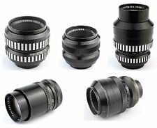 Carl Zeiss TEVIDON 5x Lens Set 16 25 35 50 70 C-Mount GH3 GH4 BlackMagic Bolex