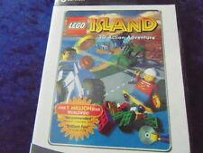 PC CD-ROM due LEGO Games una chiamata SQUADRA ALPHA L'ALTRA ISOLA 3d ADVENTURE