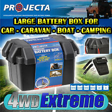 PROJECTA LARGE BATTERY BOX BB330 12V 130AH 4X4 AGM DEEP CYCLE DUAL SYSTEM MARINE