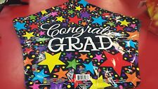 "GRADUATION 18"" STAR MYLAR BALLOON Congrats GRAD Shipped  UNINFLATED"