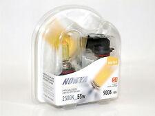 Nokya 2500K 55w Hyper Yellow 9006/HB4 Halogen Fog Light Bulbs A
