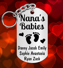 CUTE Keychain Gift 4 Grandma, Personalized FREE w' grandkids Names! Grandmother