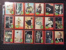 1977 STAR WARS Red Border Series 2 Topps Trading Cards LOT of 63 VF 8.0