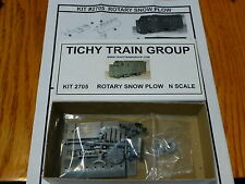 Tichy Train Group #2705 Rotary Snow Plow - Kit