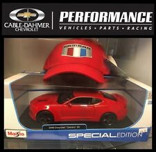2016 Chevrolet Camaro SS Red 1/18 by Maisto with New Logo Cap