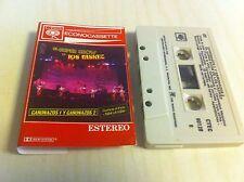 Vintage Cassette Tape Canonazos El Super Show De Los Vaskez Latin Estero RARE CS