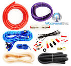 4 GAUGE PRO AMP WIRING KIT AMPLIFIER INSTALL POWER GROUND RCA COMPLETE WIRE SET