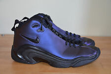 2010 Nike Air Pippen II 2 Two Black Purple Scottie Zoom VNDS 312545-500 sz 9.5