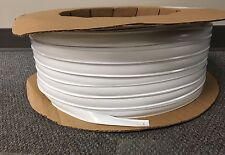"1"" x 100 Ft. WHITE Vinyl Insert Molding Trim Screw Cover RV Boat Camper Trailer"