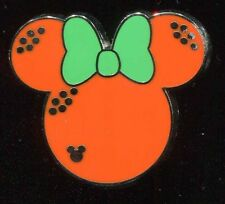 DLR 2017 Hidden Mickey Minnie Fruit Icons Orange Disney Pin 119765