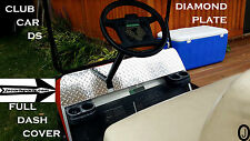 Club Car Ds Golf Cart Diamond Plate FULLSIZE Dash Cover