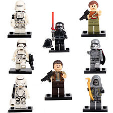 Rogue One Star Wars Story Rey Kylo Ren Finn 8 Mini figures building Toys lego