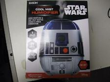 Star Wars Ultrasonic Cool Mist R2D2 Humidifier 1 Gallon Capacity NEW