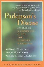Parkinson's Disease: A Complete Guide for Patients and Families (A Johns Hopkins