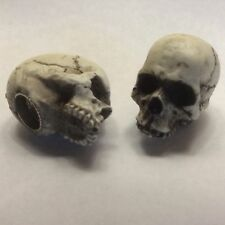 American Made Skull Valve Stem Caps Hot Rat Street Rod Skeleton Harley 15VC