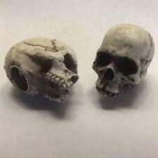 American Made Skull Valve Stem Caps Hot Rat Street Rod Skeleton Harley 15VC