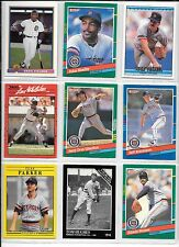 Cecil Fielder plus 8 more Detroit Tigers baseball card lot