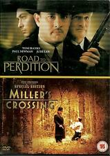 CARRETERA A PERDICIÓN & MILLER'S CROSSING - NUEVO 2 DVD SET