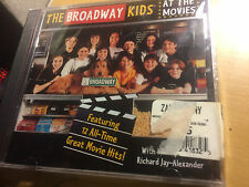 At the Movies by The Broadway Kids (CD, Feb-1997, Lightyear) cd SEALED