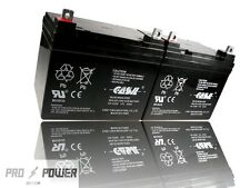 (2) Casil 12v 35ah for U1 REPLACEMENT BATTERY MK MU-1SLD M AGM N
