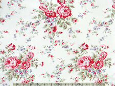 Tanya Whelan Ava Rose Kitchen Rose Bouquets Grey Fabric