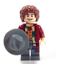 Custom Minifigura Doctor Who, el médico 4th Tom Baker & Free Lego ladrillo