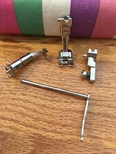 BERNINA SEWING MACHINE FEET AND OTHER ITEMS (LOT OF 4 ITEMS) OLD STYLE NICE LOOK