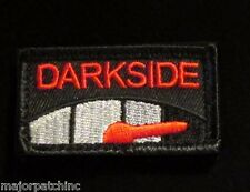 DARK SIDE METER STAR WARS USA MORALE BADGE BLACK OPS RED VELCRO® BRAND PATCH