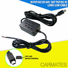 product Micro mini USB straight Power Supply Cable For hino Camera Recorder DVR