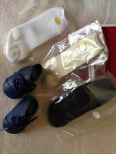 American Girl Addy's SHOES & 3 PAIR of SOCKS  BOOTS new in box  Kirsten Samantha