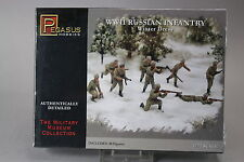 YH069 PEGASUS HOBBIES 1/72 maquette figurine 7269 Russian Infantry Winter Dress