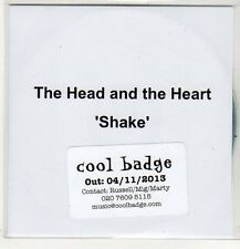 (EP585) The Head And The Heart, Shake - 2013 DJ CD