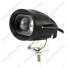 Motorcycle Dual CREE LED Mini Driving Spot Head Light Universal Bobber Chopper