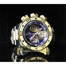 NEW Invicta Reserve Subaqua Sea Dragon 52mm Quartz Chronograph SS Bracelet Watch