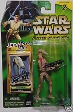 "Star Wars: Battle Droid {Security} Power Of The Jedi 3.75"" Action Figure 2000"