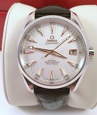 2013 Mens Omega Seamaster Co-Axial Automatic Watch Model 8500 in Exc. Cond.