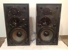 Bang and Olufsen B&O Beovox S45 Type 6302 3-way Speakers & Connection Wire