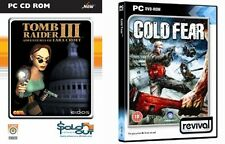 Tomb Raider III & cold fear   new&sealed